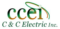 Logo, C & C Electric Inc. - Electrical Services